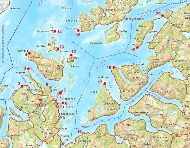 Carte3 Vaagsfjord