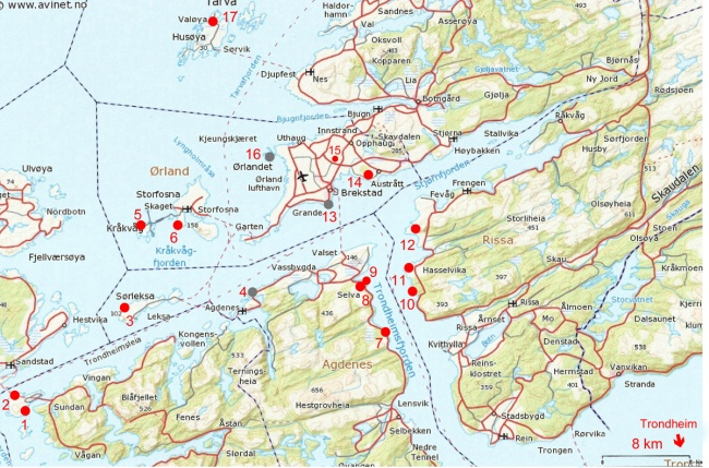 1-Carte-fjord-Trondheim