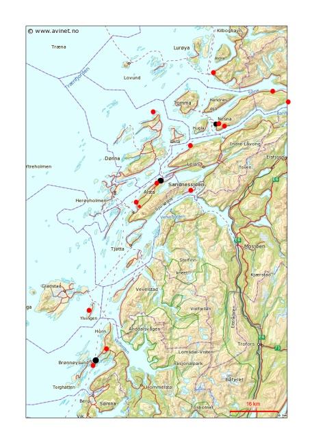 4---Carte-Bronnoysund---Sandnessjoen